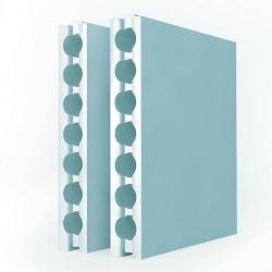 Плиты пазогребневые пустотелые стандартная 80 мм.