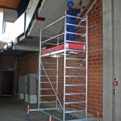 Лестницы, леса строительные