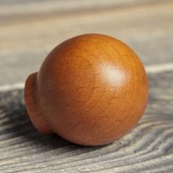 Ручка-кнопка деревянные