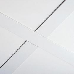 Потолочная плита из минерального волокна тип кромки  board (подвесная система 24 мм)