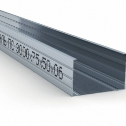 Профили для ГКЛ толщина 0,6 мм. тип 6 100/50