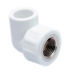 Полипропилен Диаметр 20 мм. угольники комбинированные