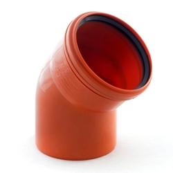 Канализация наружная диаметр 110 мм. отводы