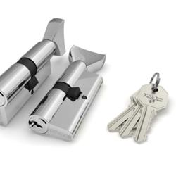 Универсальные ассимметричные ключ/фиксатор (вертушка)