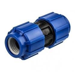 ПНД (полиэтилен низкого давления) диаметр 20 мм. муфты соединительные