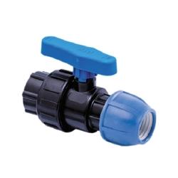 ПНД (полиэтилен низкого давления) диаметр 25 мм. кран-шаровый