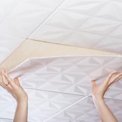 Клеи  для потолочной плитки и пенополистирола