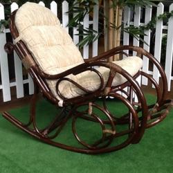 Кресла - качалки из ротанга