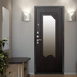 Двери стальные/ металлические внутренняя отделка декор